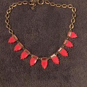 Stella & Dot HOT PINK Eye Candy Necklace